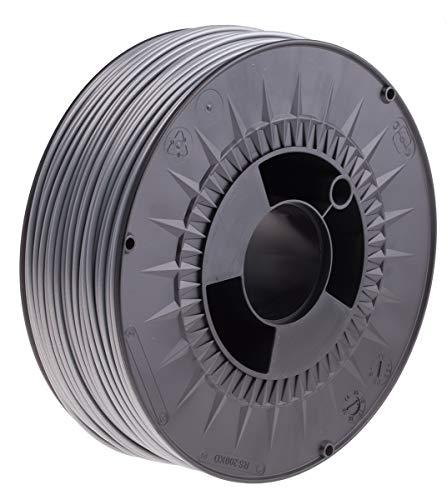 RS PRO ABS 3D-Drucker Filament zur Verwendung mit Gängige Desktop-3D-Drucker, Silber, 2.85mm, FDM, 1kg