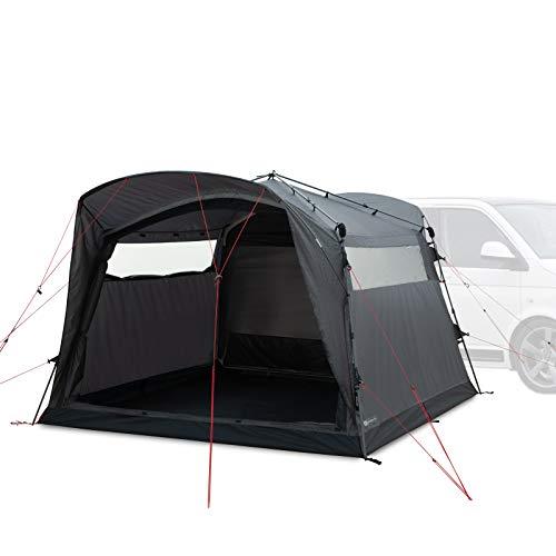 Qeedo Quick Motor Free Busvorzelt (freistehend) mit Quick-Up-System - Heckzelt, Vorzelt für Campingmobil, Camper