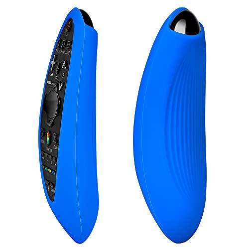 WDFGSA Cubierta de Control Remoto Funda de protección para Samsung TV Control Remoto BN59-01185F BN59-01181A BN59-01185A Cubiertas de Silicona a Prueba de Golpes (Color : Blue)