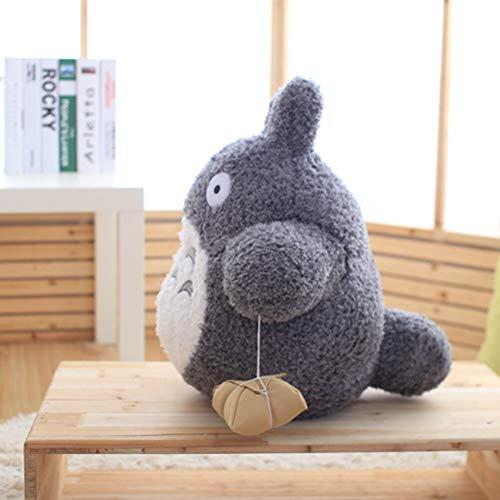 CGDZ Lindo Juguete de Peluche de Dibujos Animados de Felpa Totoro Juguetes de Peluche Baby Doll Kids Gran tamaño Almohada Totoro de Peluche de Juguete muñeca para Regalo de los niños 20 cm