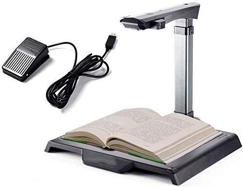 KAUTO Scanner per Documenti in Formato A4 da 18 Megapixel, Documento del Contratto di Riconoscimento OCR, Biblioteca Dedicata All ufficio Didattico