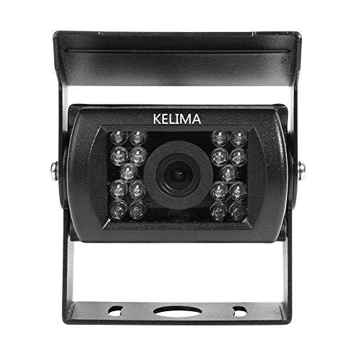WZhen Kelima 6988 AV Interface Universal 18 Infrared Night Vision Impermeable Cámara De Visión Trasera del Coche