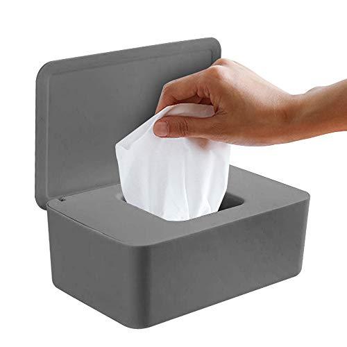 OVAREO Feuchttücher-Box, Feuchtes Toilettenpapier Box, Baby Feuchttücherbox,Baby Tücher Fall,Tissue Aufbewahrungskoffer,Taschentuchhalter,Tücherbox,Serviettenbox Spenderhalter mit