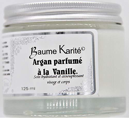 Aromaroc Baume Vanille au Beurre de Karité Biologique