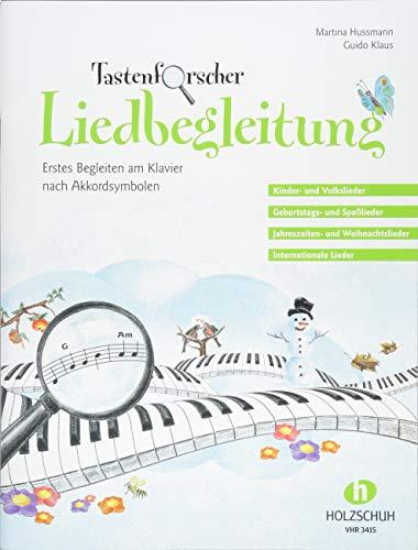 Tastenforscher Liedbegleitung - Erstes Begleiten am Klavier nach Akkordsymbolen