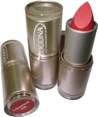 Logona Lipstick / Lippenstift 3er Set (Coral)