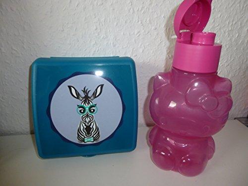 Tupperware - Schulset für Mädchen - Zebra Box und Hello Kitty Eco