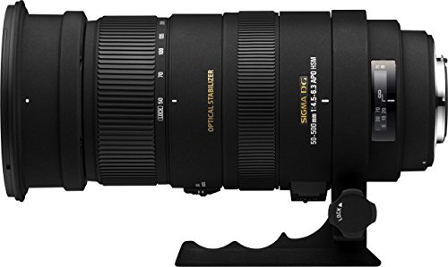 Sigma 50-500mm f/4.5-6.3 APO DG OS HSM SLD Ultra Telephoto Zoom Lens for Canon Digital SLR Camera - International Version (No Warranty)
