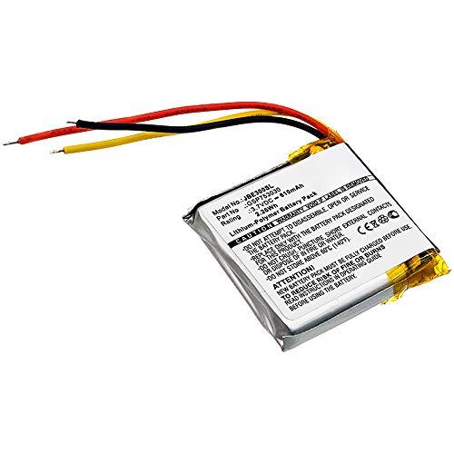 subtel Batteria Premium Compatibile con JBL E45BT, Everest Elite 300, GSP753030 610mAh accu Ricambio Sostituzione