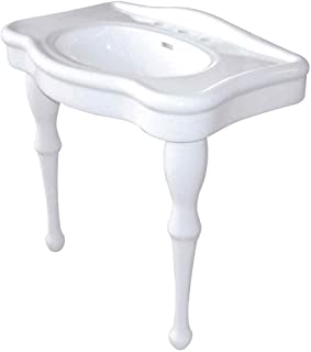 Kingston Brass VPB5328 Imperial Basin Console With Pedestal, 33 1/2