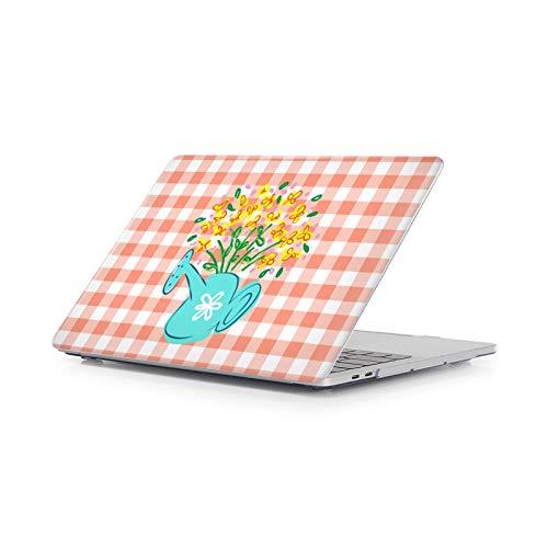 Head Case Designs Oficial Grace Illustration Yellow Flowers Carcasa Rígida Compatible con Macbook MacBook Pro 15.4' A1707/A1990