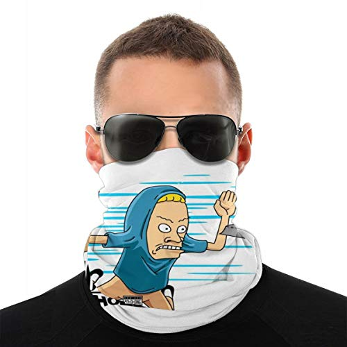 NSHANGMA Tp for My Bunghole Beavis and Butt Head Nevermind Variety Head Scarf Face Mask Magic Headwear Neck Gaiter Face Bandana Scarf