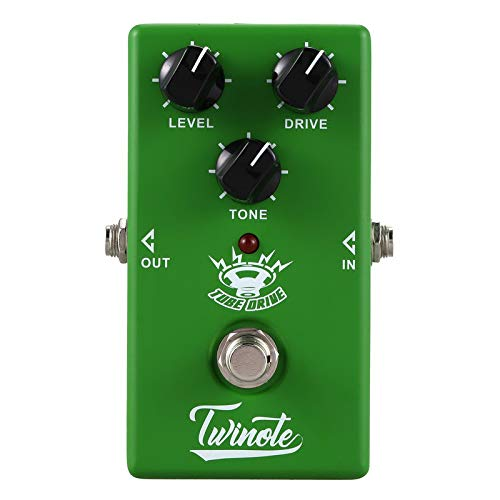 Twinote Tube Drive Overdrive Pedal Guitar Effects Natural Overdrive Sound Electric Guitar Pedals Accessories Musical Instruments
