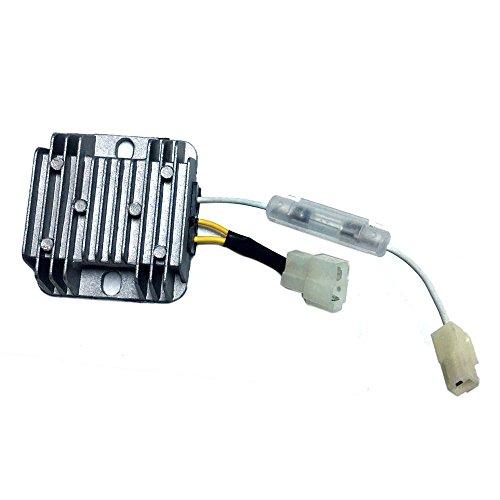 AM Laderegler Regulator Lichtmaschine Regler 12V für Yanmar, Rotek Dieselmotoren Typ 186F, 188F und andere Benzin Motoren