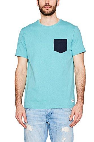 Edc by Esprit 057cc2k042 T-Shirt, Vert (Aqua Green), Large Homme