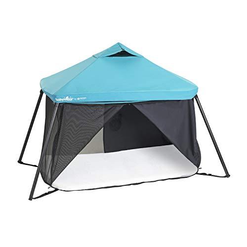 Babymoov A035026 Dach für Reisebett Naos, schwarz, 310 g