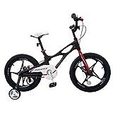 Mozusa Bicicletas de 14 pulgadas de los niños Muchacho y muchacha Cochecito 4-12 Año estudiante de la montaña de la bicicleta al aire libre de la bici de múltiples funciones portable de bicicletas mej