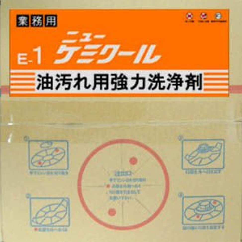 プリーツ手つかずの伝統的ニイタカ ニューケミクールBIB(バックインボックス)油汚れ洗剤20Lお徳用