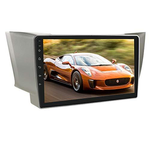Autoradio Android 10 Stereo con touch screen da 9 pollici adatto per Lexus RX300 RX330 RX400H 2003-2009 Toyota Harrier 2003-2009, supporta navigazione GPS Connessione USB Bluetooth WiFi EQ SWC