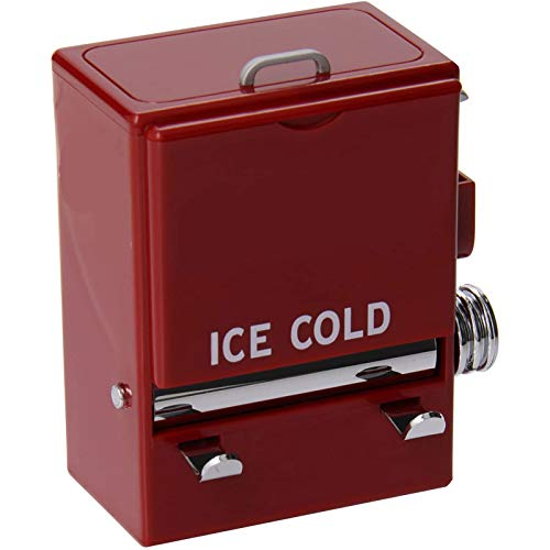 Dispensador de Palillos de Dientes de la máquina expendedora de Mesa Artesanal Rojo