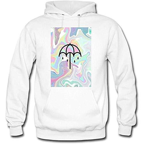 Bring Me The Horizon Custom Men's Hoody Hoodie Hooded Sweatshirt (White)