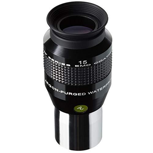 """Explore Scientific 52° LER Okular 15mm Ar (1.25\"""") für Teleskope mit hochwertiger EMD Vergütung, wasserdicht mit Argon-Schutzgasfüllung"""