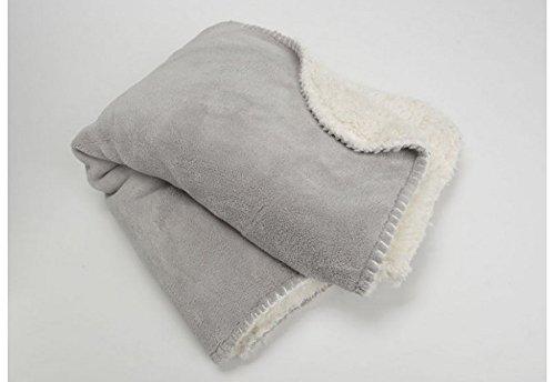 Plaid cocoon gris, collection Les Petits, Amadeus