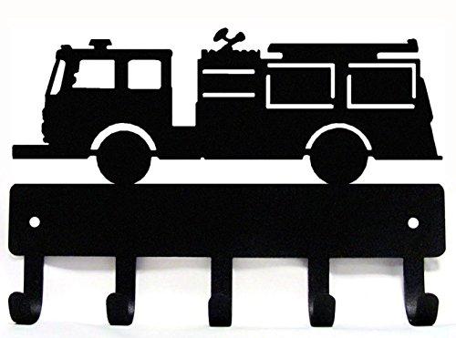 Fire Engine EMS Truck Key Rack with 5 Hooks