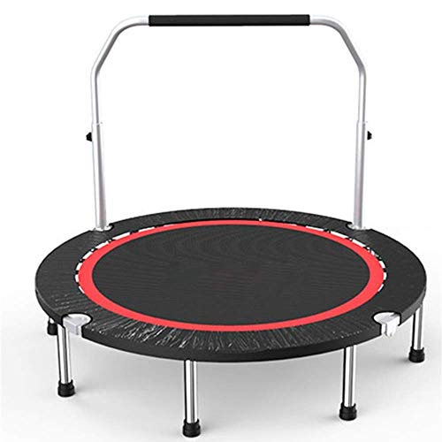 Qiutianchen Rebounder Trampolines Gym Household Children's Indoor Bounce Bed Outdoor Adult Sports Weight Loss Trampoline with Double Armrests Load 325KG Fitness Trampoline Exercise Equipment