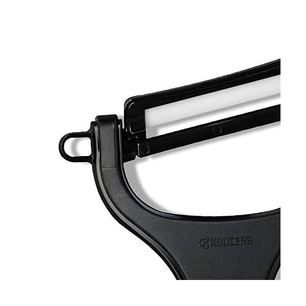 Kyocera, negro CP-15-BK, peladora horizontal, cuchilla afilada de cerámica de circonio, liviana, no corrosiva, apta para…