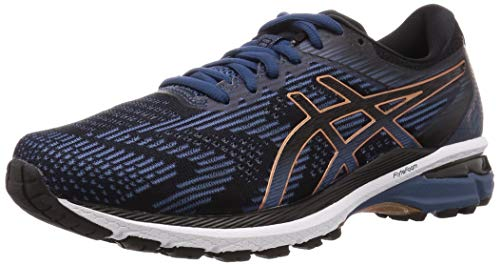 ASICS GT-2000 8, Scarpe da Corsa Uomo, Multicolore (Grand Shark/Black), 40.5 EU