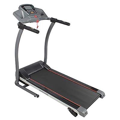 GOJOOASIS Folding Treadmill 1100W Motorized Running Exercise Machine w/Incline