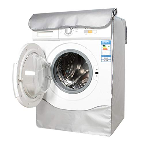 Nati Washing Machine Cover Dustproof Machine Washer and Dryer Cover for Front Load Washer Protection Home Laundry