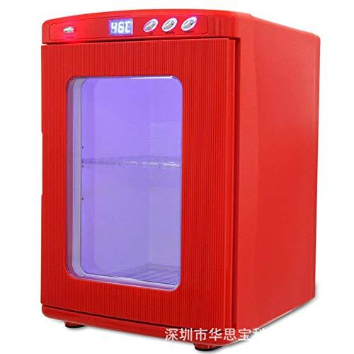 AYDQC Mini refrigerador Rojo, 25L Mini Compact-Refrigerator-refrigeradores Coche y casero Dual PERITONEAL INCUBIRADOR INCUBIRADOR Portable para Dormitorio, Oficina O TAMPIO fengong