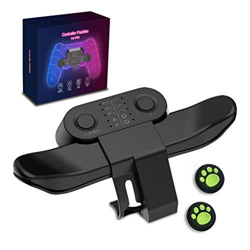 Back Button PS4, Strike Pack PS4, Allegato Pulsante Indietro per Playstation 4, F.P.S. Controllore Dominatore MOD Kit, con 2 Pezzi Joystick Manopole in Silicone Tappi