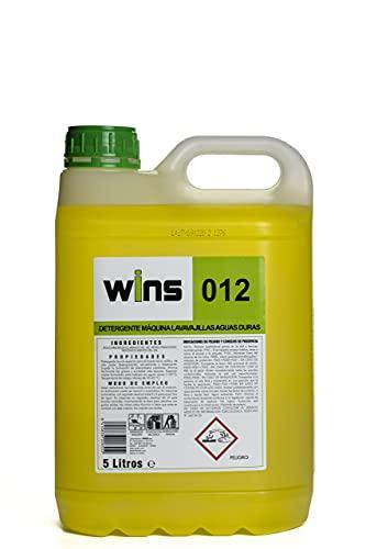 Wins - Detergente Máquinas Lavavajillas Profesional Aguas Duras 012 - Garrafa 5L
