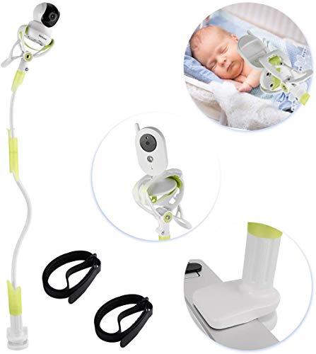 Sunix Soporte para cámara de Bebé, Soporte para Monitor de vídeo Infantil y Estante, Soporte para Cámara Flexible para la Mayoría de Teléfonos & Monitores de Bebés