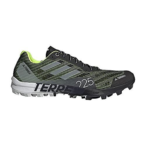 adidas Terrex Speed Pro SG, Zapatillas de Trail Running, NEGBÁS/FTWBLA/Amasol, 36 EU
