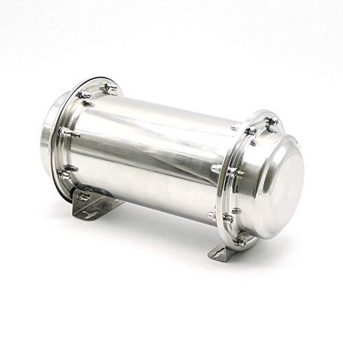 GOONSDS Tempo Acciaio Inox Capsula Impermeabile di Blocco del Contenitore di Stoccaggio Future Regali 13.4Inch / 34 Centimetri