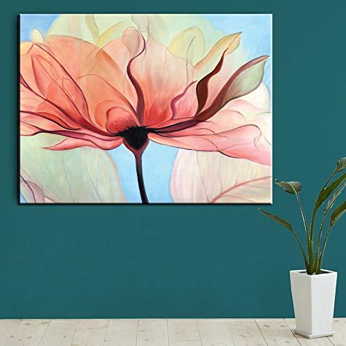 HGlSG canvas art schilderij olieverfschilderij Vintage Home Decor op de muur voor de woonkamer paarse kunst foto voor het leven A3 60x90cm