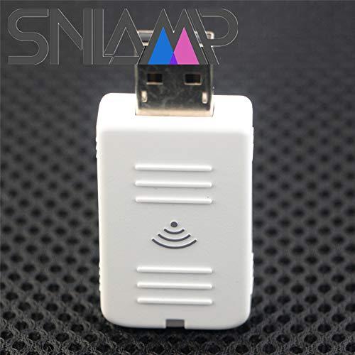 Snlamp ELPAP07 / V12H418P12 Adattatore LAN Wireless (Wi-Fi) USB/modulo DONGLE per EPSON EH-TW6600W EH-TW570 EH-TW570 EH-TW5200 EH-TW5100 EH-TW490 EB-Z9900W