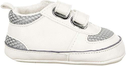 Sterntaler Jungen Baby-Schuh Stiefel, Weiß (Weiss 500), 19/20 EU