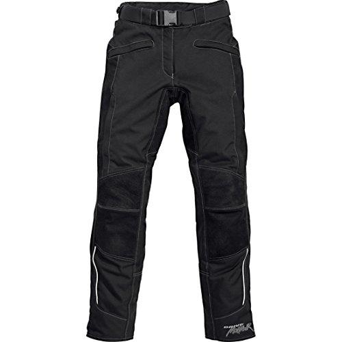 Mohawk Motorradhose Touren Damen Leder-/Textilhose 2.0 schwarz M (kurz), Tourer, Ganzjährig, Leder/Textil