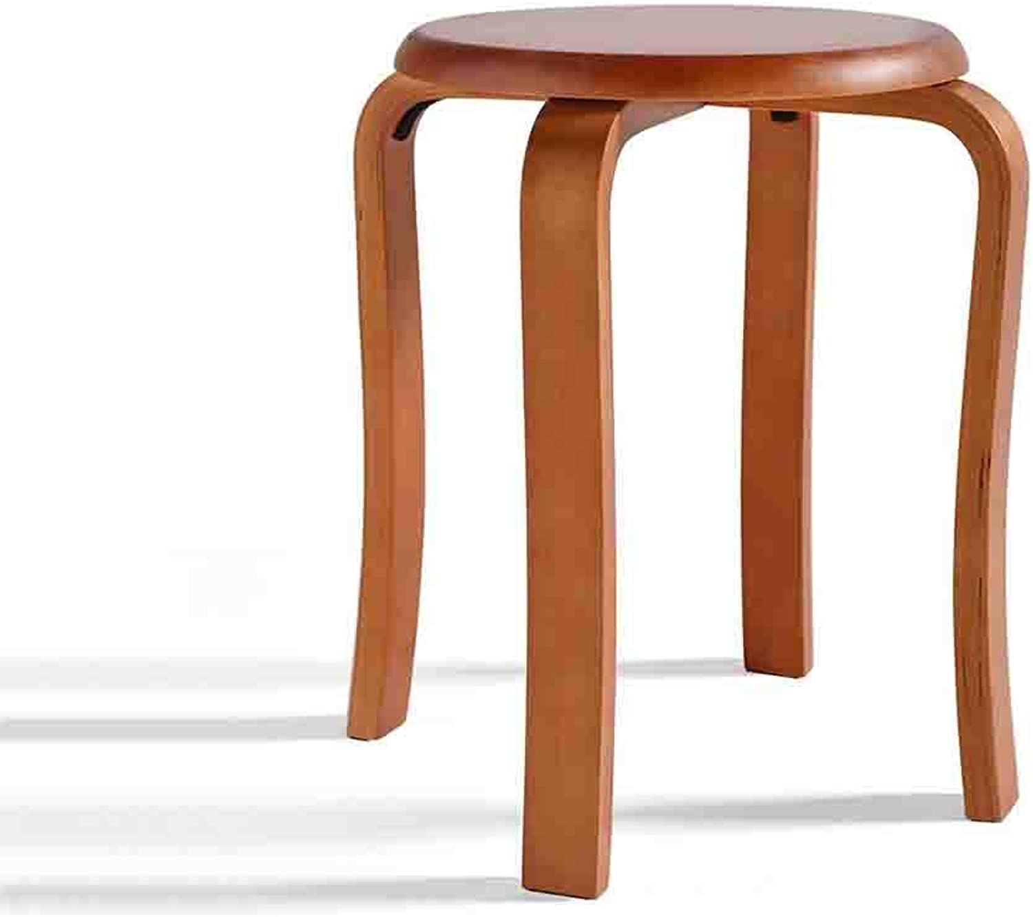 QZ HOME Stool Solid Wood Modern Simple Rubber Wood Assemable Comfortable Cushion Multifunction Wooden Bench (color   2)