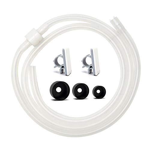 """Soap Dispenser Extension Tube Kit 47"""" with Anti-leak accessories,No Need to Fill The Little Bottle Again!"""