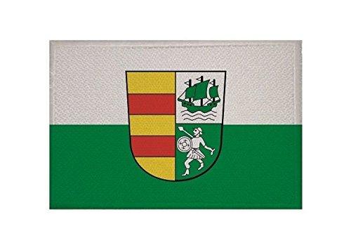 U24 Aufnäher Landkreis Wesermarsch Fahne Flagge Aufbügler Patch 9 x 6 cm