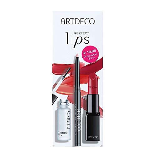 Artdeco Perfect Lips Set - Perfect Color Liptick 803, Magic Fix & Invisible Lip Contour Set