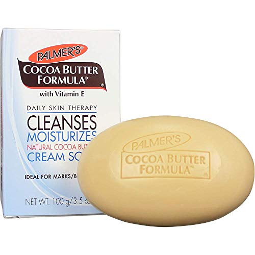 Product Image of the Palmer's Cocoa Butter Formula with Vitamin E Daily Skin Therapy Formula Cream Soap, 3.5 Ounces (Pack of 12)