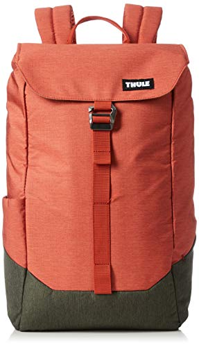 THULE Lithos 2019 Mochila Tipo Casual 50 Centimeters Naranja (Rooibos/Forest Night)