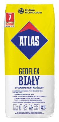 Geoflex Weiß Fliesen-kleber Flexkleber Innen Aussen Bodenheizung C2TE 25 kg